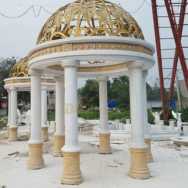 Factory Price Landscape Large Natural Stone Gazebo