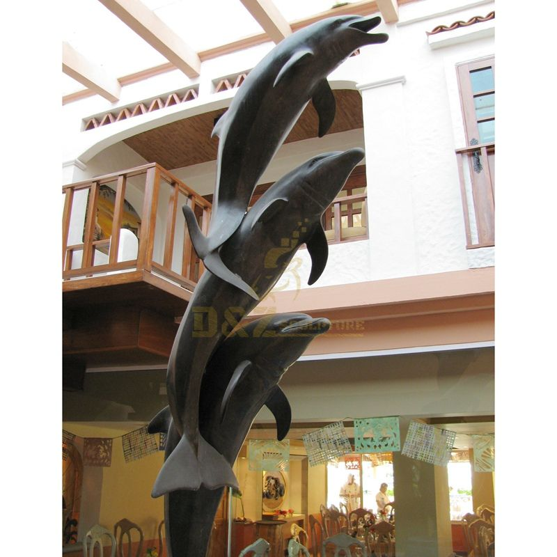 Dolphin sculptures are available for sale
