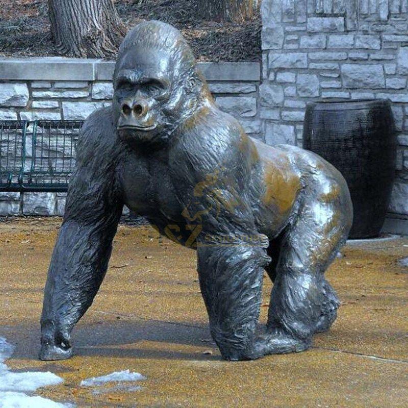 High Quality Bronze King Kong Orangutan Sculpture