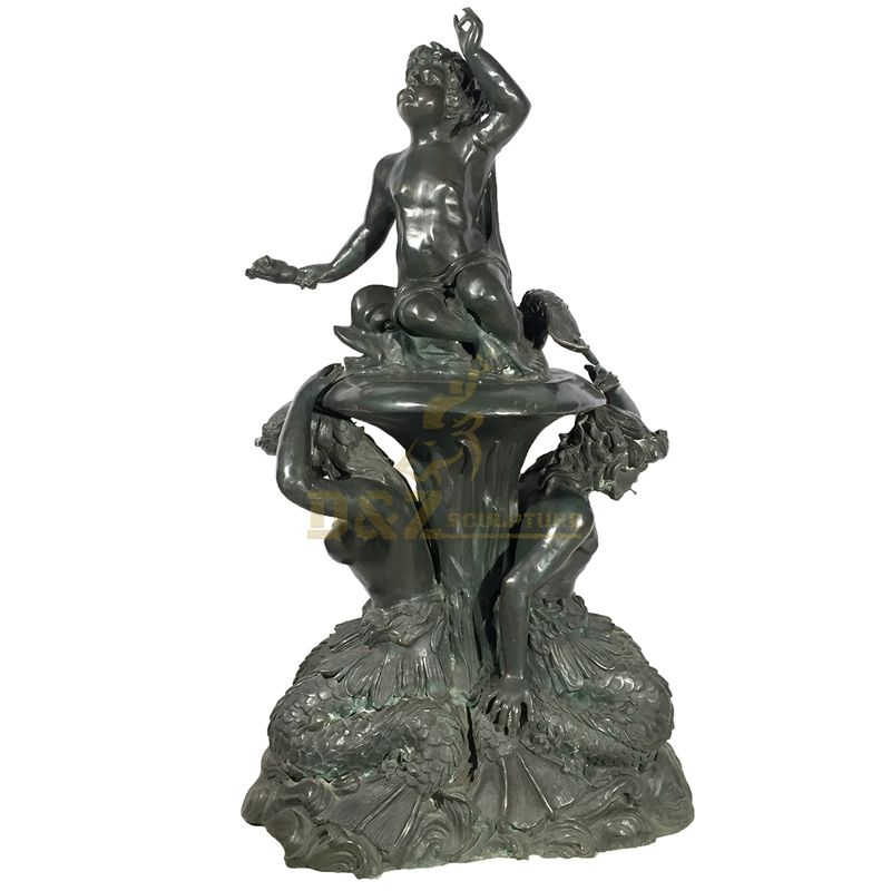 Hot Sale Handmade Cheap Yard Bronze Fountain Statue Sculpture