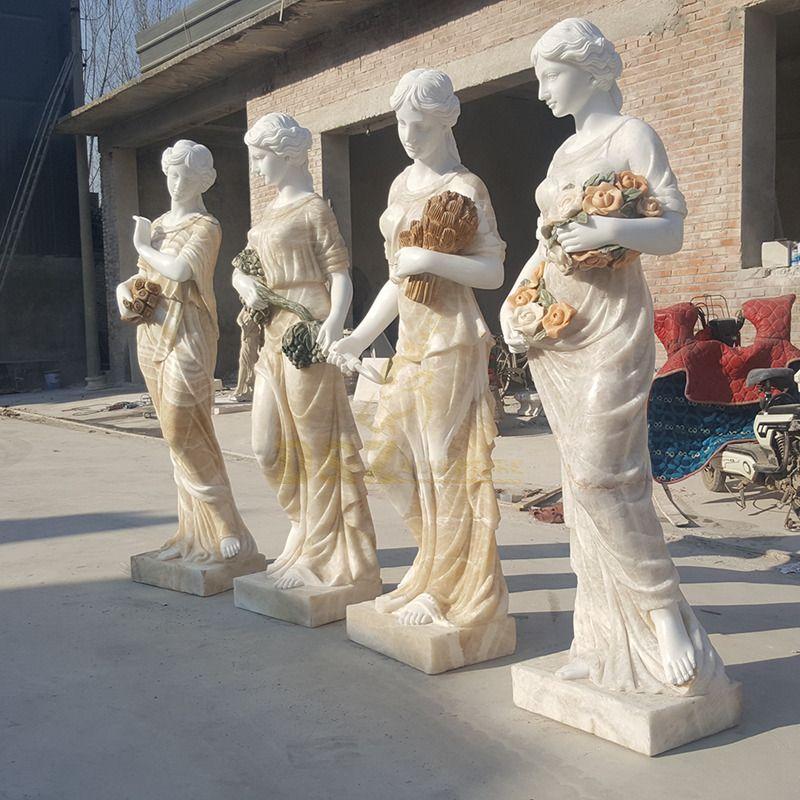 Wholesale Life Size Garden Marble Four Season Goddess Statues