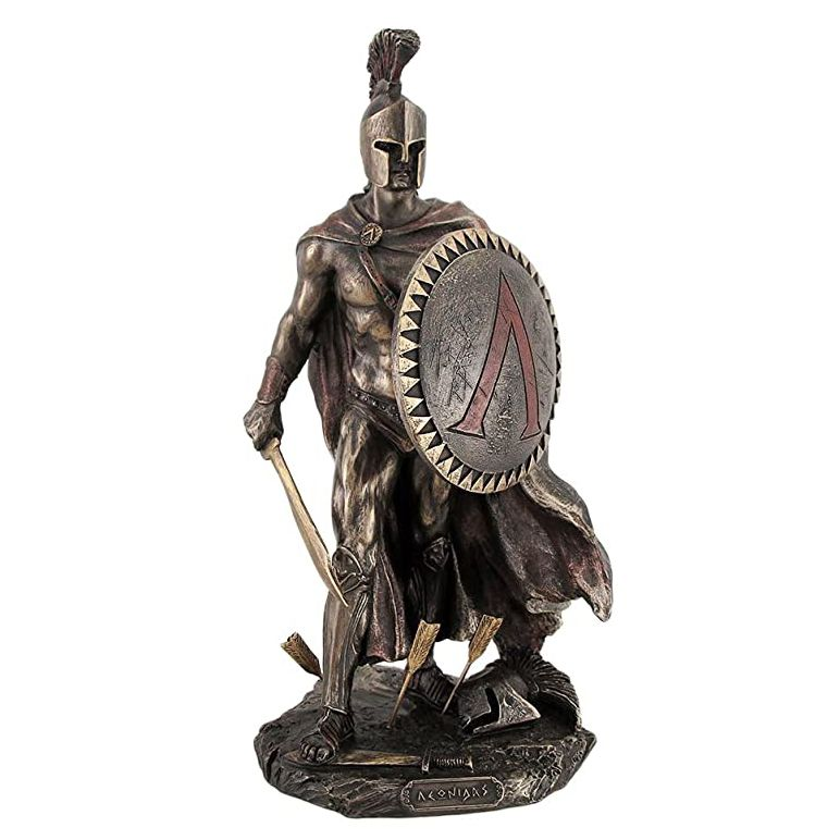 Ancient Warriors Bronze Soldier Sculpture