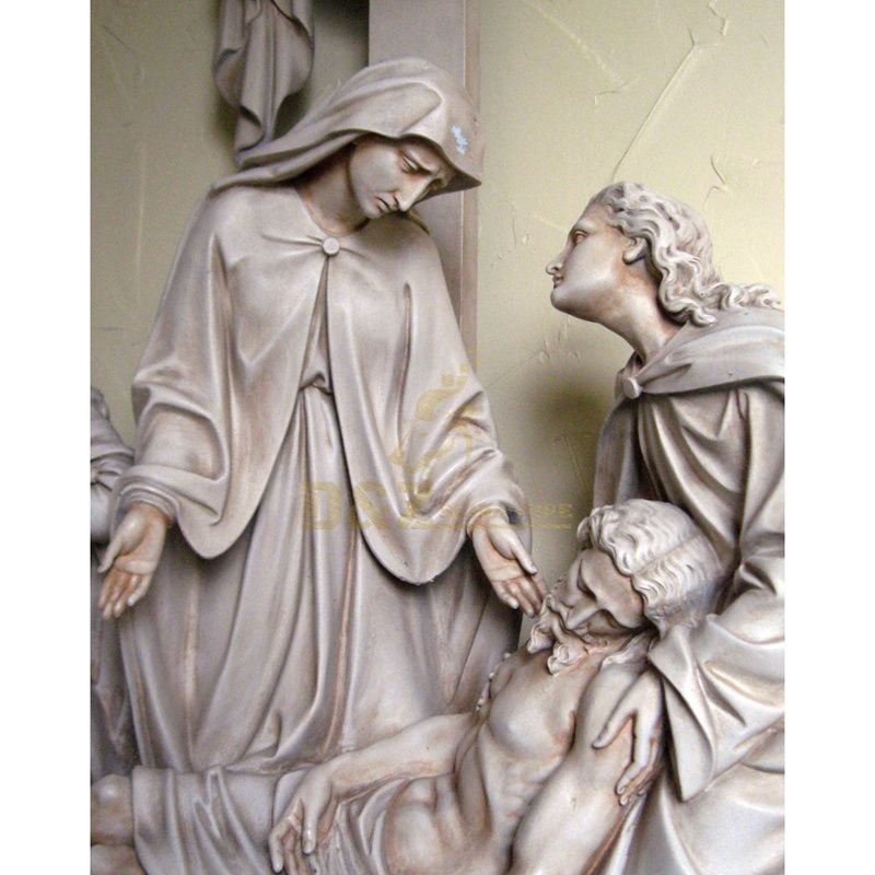Custom Made Best Home Decoration Gift Polyresin Resin Mary Fibreglass Statues