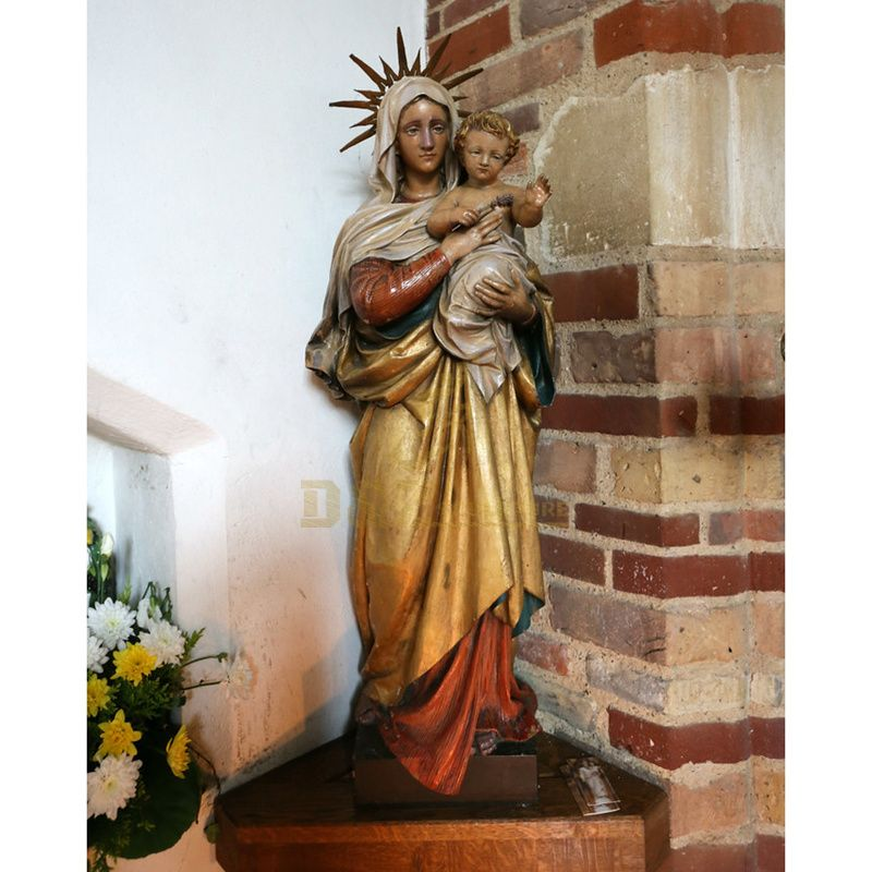 Holy Virgin Mary Statues Religious Catholic Mary Figurine For Sale