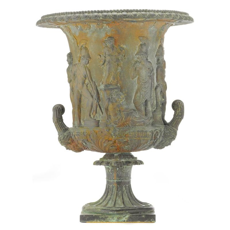 Decorative Exquite Garden Cast Antique Bronze Flower Pot