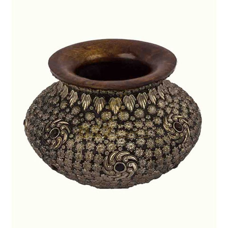 Home Adornment Cnbdglory Products Brass Flower Pot