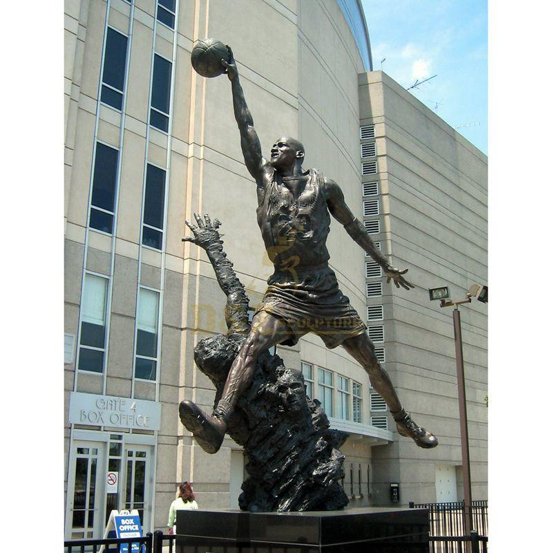 Professional manufacturer sculpture modern Jordan statues