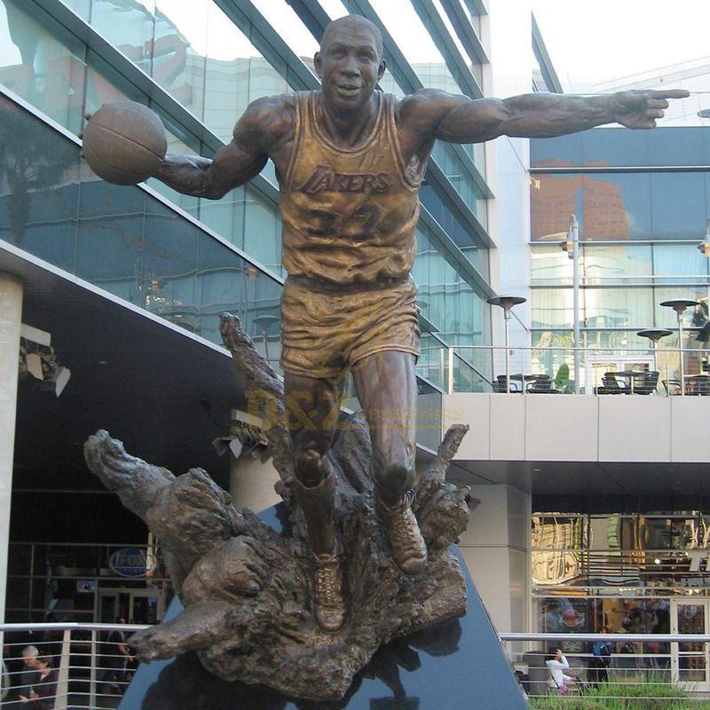 Home Decorative Jordan Statue bronze for sale