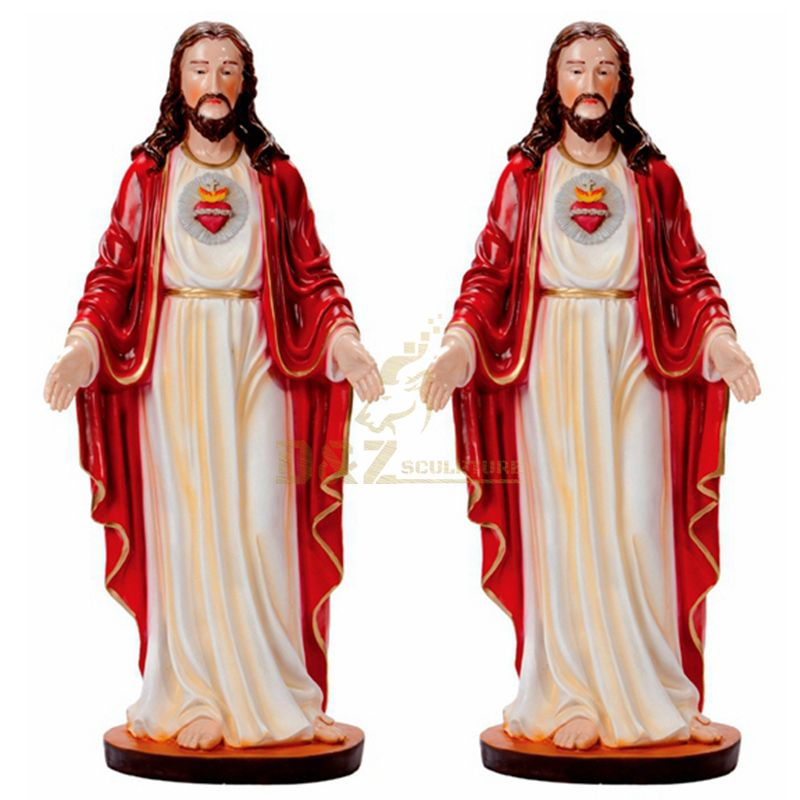 Personalized Handmade Custom Polyresin Jesus Christ Statue