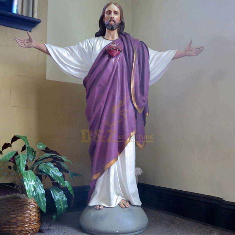 Resin Factory Decorative Manufacture Jesus Christ Statue