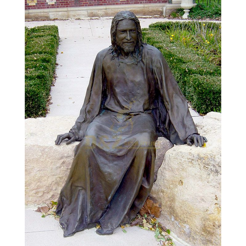Classical Life Size Religious Bronze Jesus Statue For Church