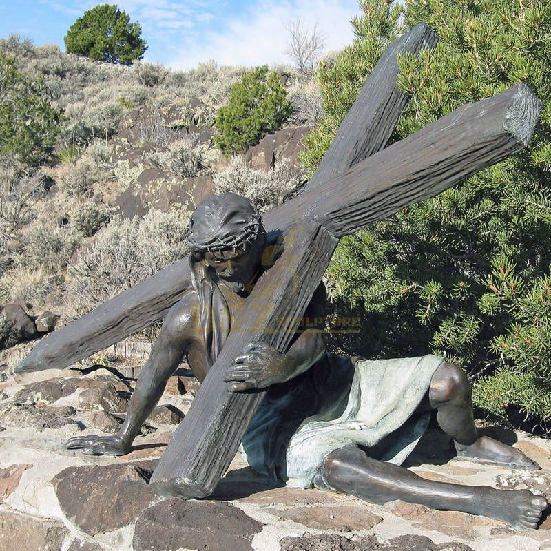 Large Size Religious Bronze Jesus Christ Statue For Church Decoration