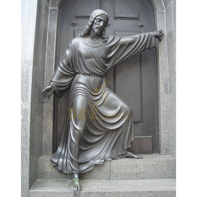 Customized Outdoor Church Decoration Life Size Jesus Christ Statue Praying