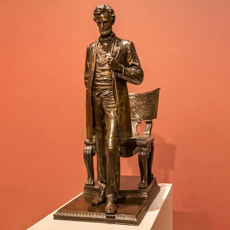 customized bronze memorial lincoln statue