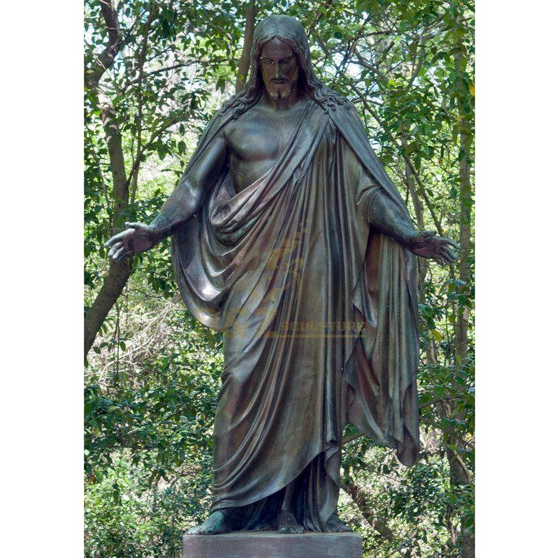 Jesus Garden Statue For Street Decoration Custom Design Jesus Statue