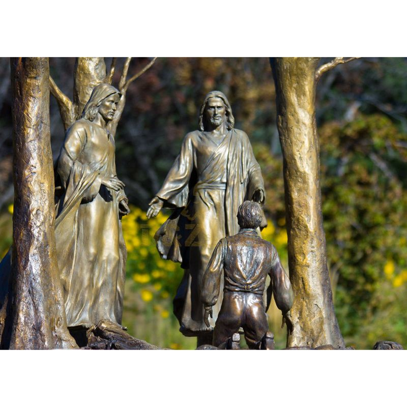 Big Jesus Statue Under The Tree For Outdoor Decoration Direct Selling Jesus Statue
