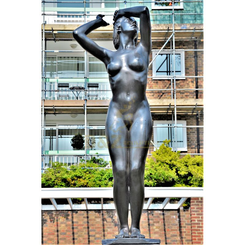 A Beautiful Life-Size Female Statues For Garden