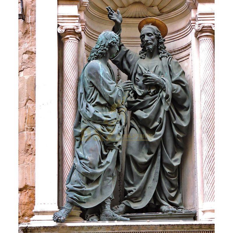Factory Handmade Customize Size Top Grade High Quality Bronze Jesus Christ Statue