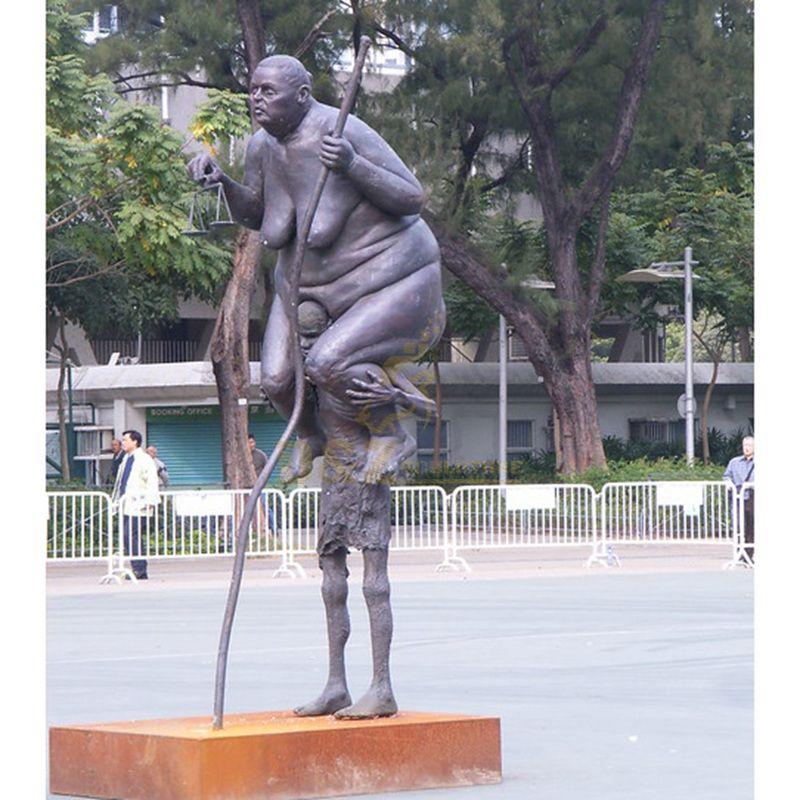 Park Public Sculpture Life Size Bronze Statue