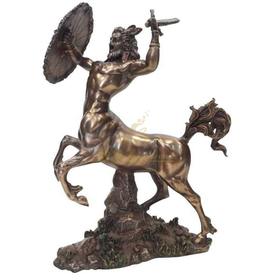 Greek Myth bronze centaur horse warrior art statue