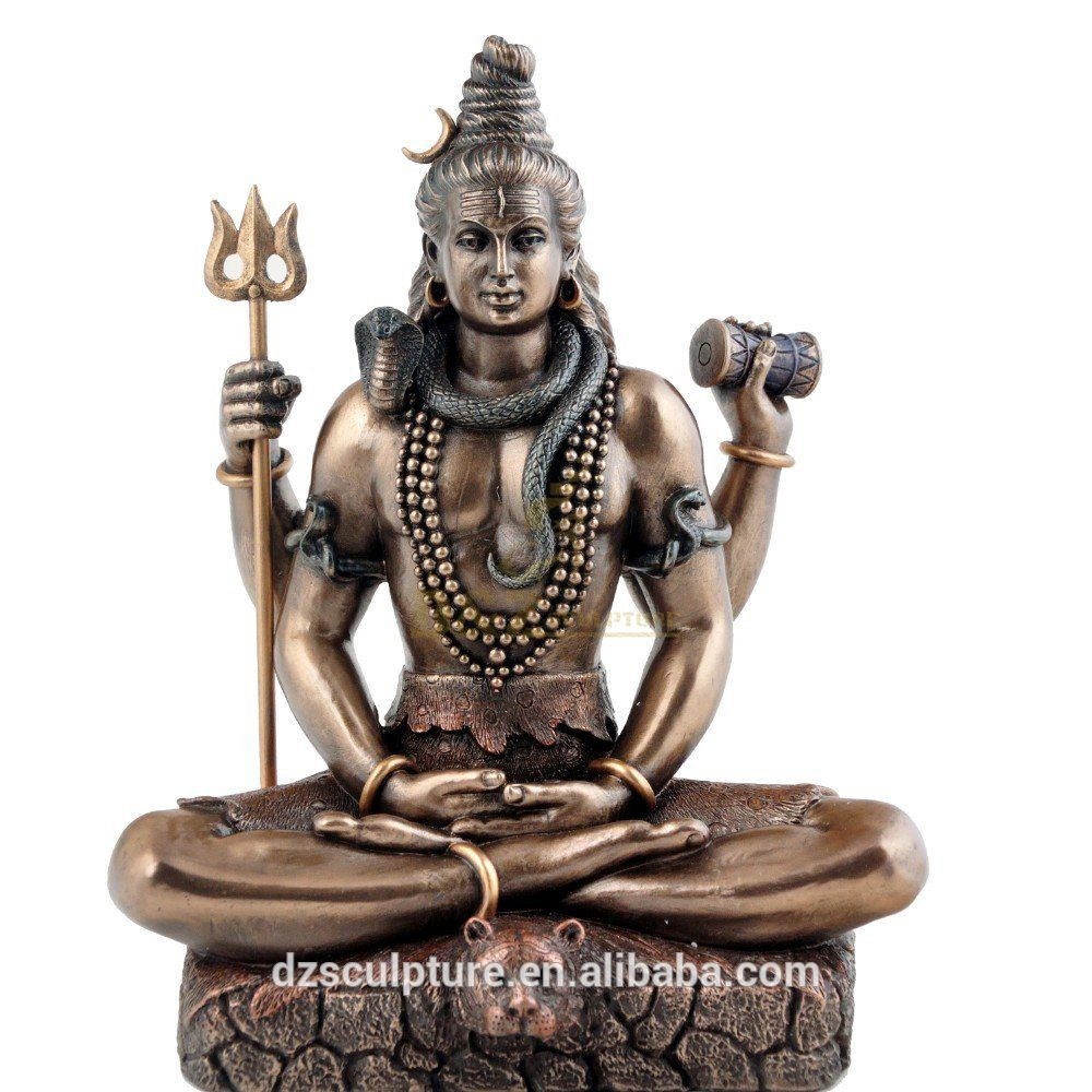 Hot Designs Casting Bronze Lord Shiva Statue For Sale