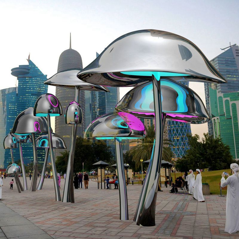 Design by famous artist Ken Kelleher Stainless Steel Garden Metal Jellyfish Sculpture