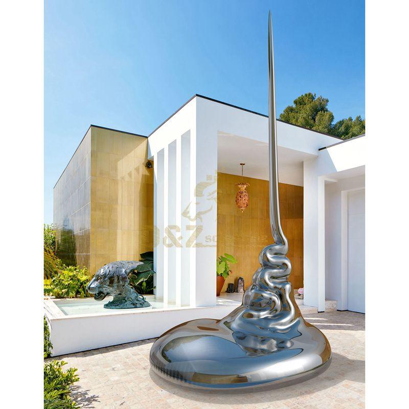 Design by famous artist Ken Kelleher Custom Fashion Stainless Steel Garden Sculpture