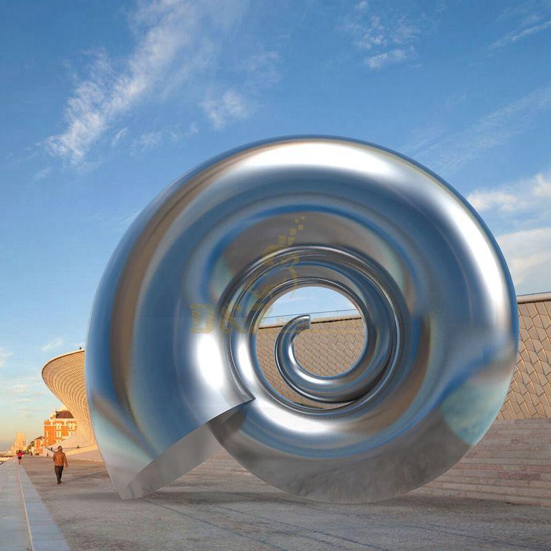 Design by famous artist Ken Kelleher Outdoor Garden Stainless Steel Polishing Sculpture