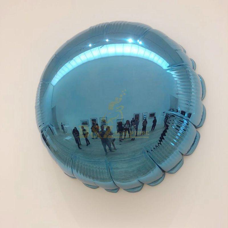 Design by famous artist Ken Kelleher Stainless Steel Mirror Wall Art Sculpture