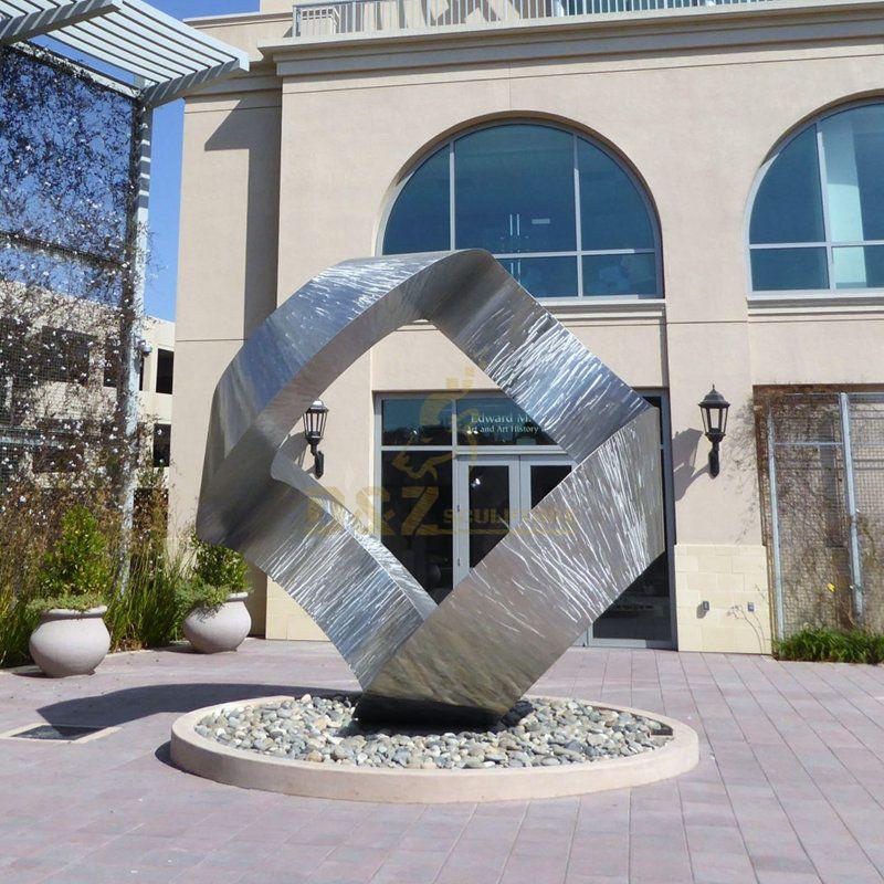Stainless Steel Large Garden Metal Art Abstract Modern Sculpture