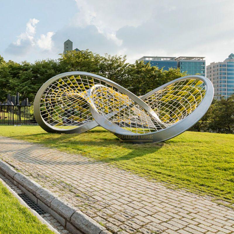 Modern Sculpture Polish 304 Stainless Steel Sculpture