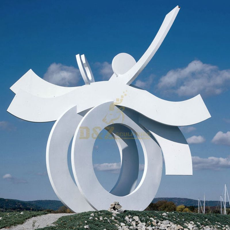 Stainless Steel Sculpture For Outdoor Landscape Decoration