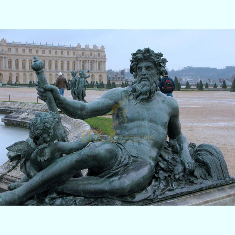 High quality bronze statue fountain hot sale bronze fountain