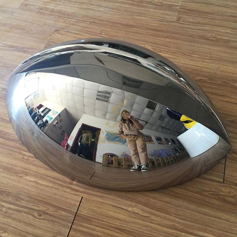 Large Mirror Outdoor Metal Art Stainless Steel Sculpture
