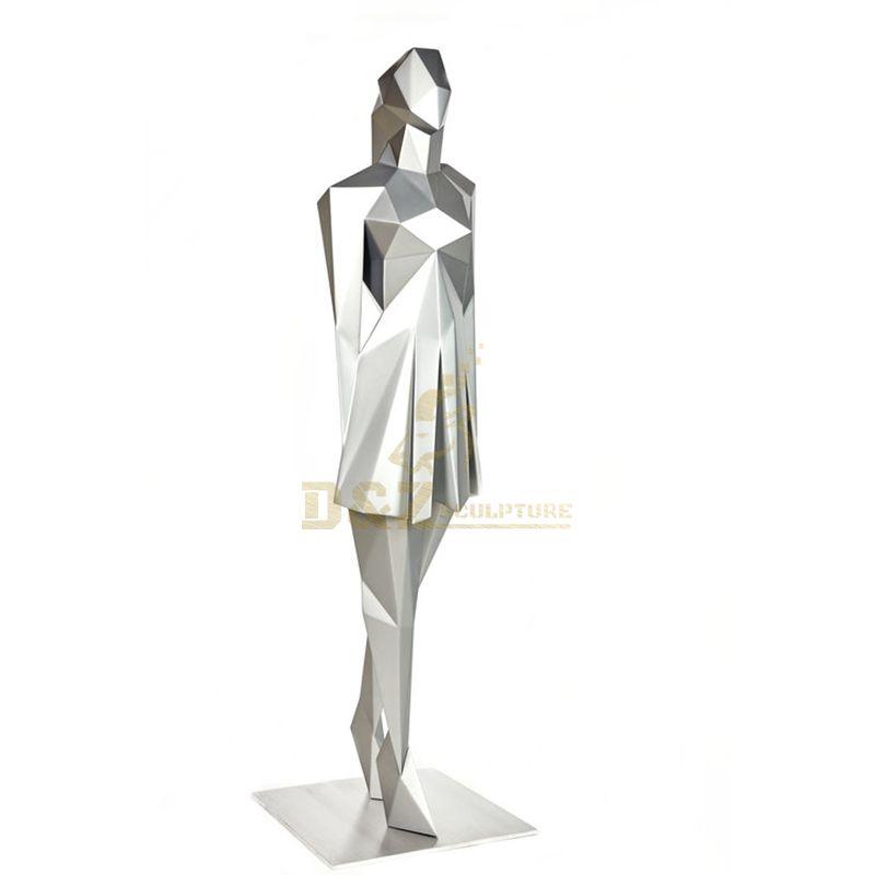 Factory Price Large Size Decoration Custom Design Polished Female Sculpture