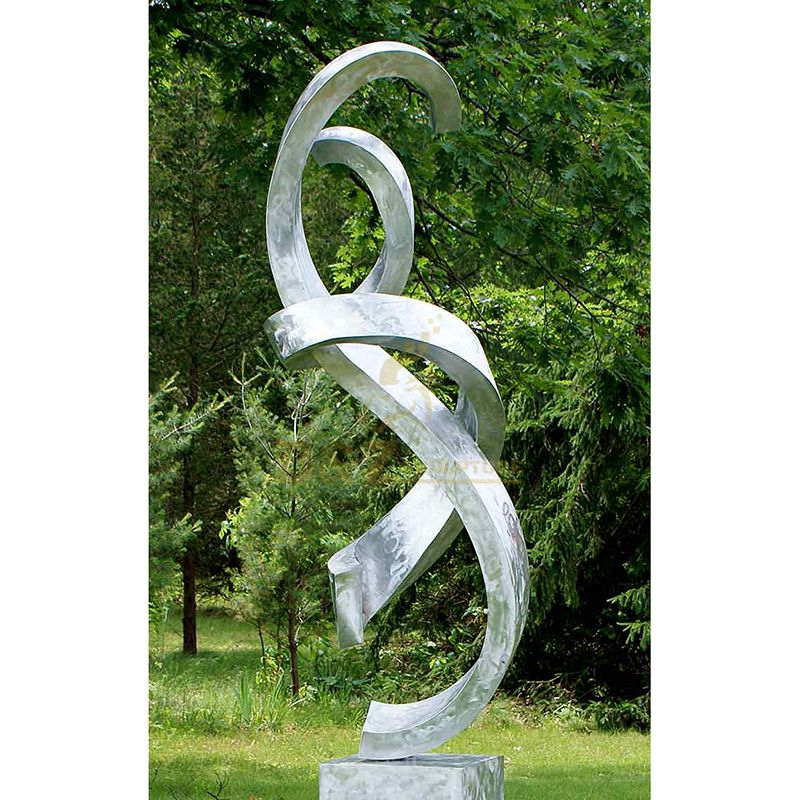 Large Huge Stainless Steel Abstract Sculpture For Outdoor