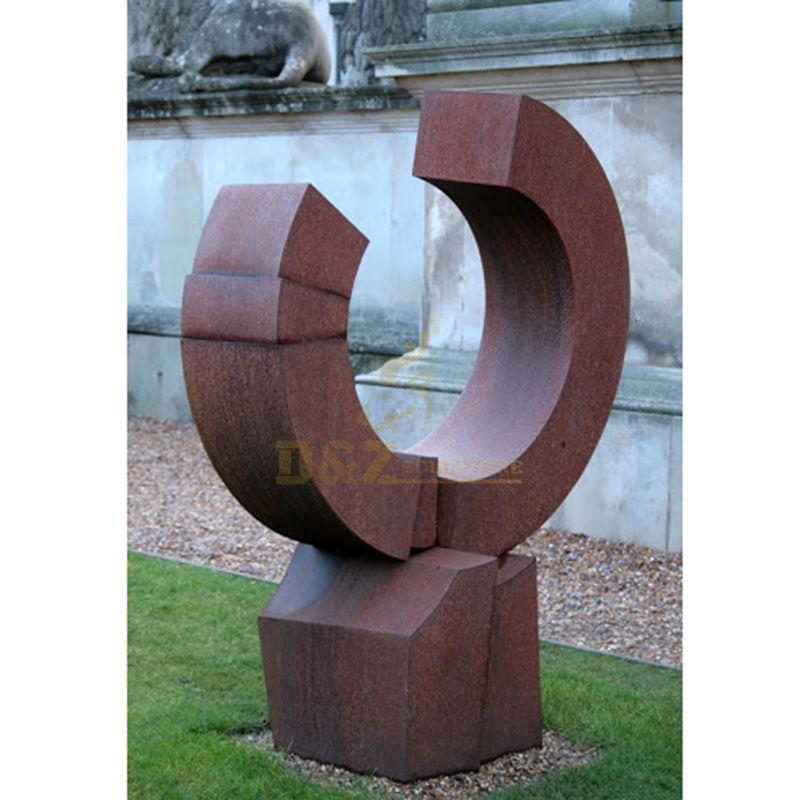 Large Abstract Garden Ornamental Corten Steel Sculpture