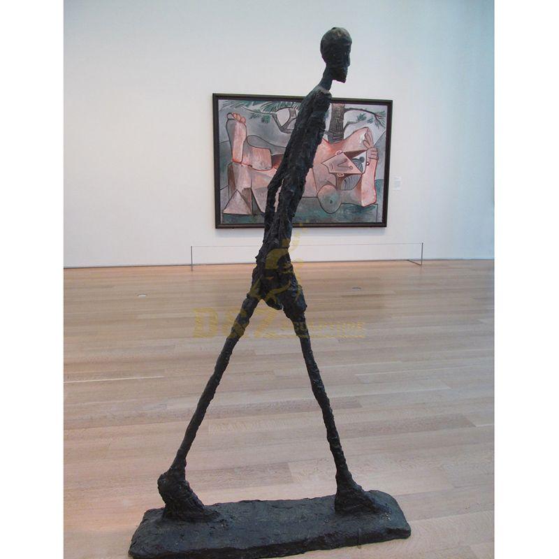 Giacometti Walking Man Sculpture Abstract Bronze Sculpture Home Deco Figurine Statue
