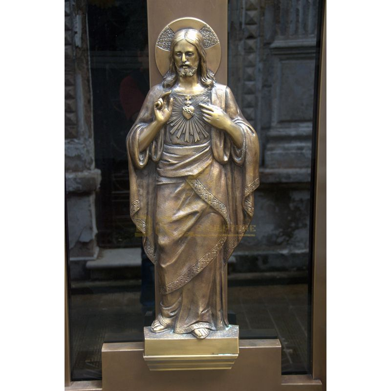 Custom Christian Religious Bronze Jesus Statue Sculpture