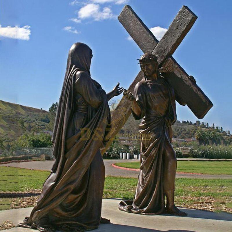 High Quality Bronze Jesus Statue Religious Casting Bronze Jesus For Sale