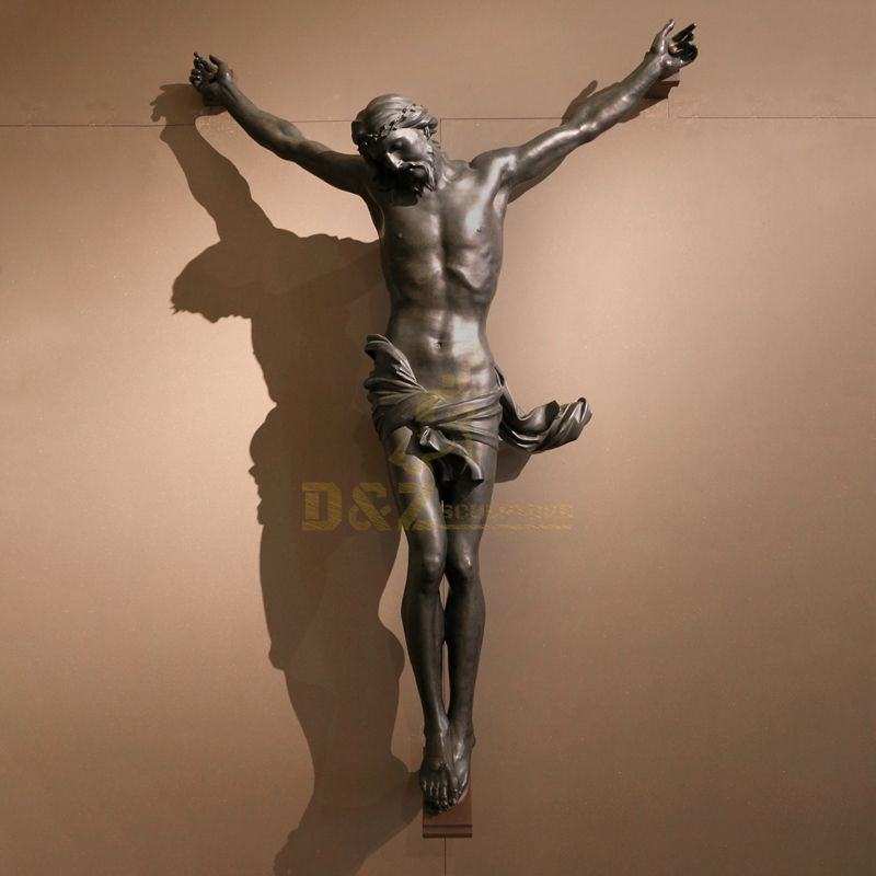 Life Size Religious Bronze Jesus Christ Statue For Church Decoration