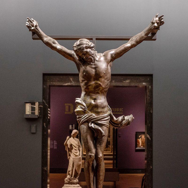 Casting Life Size Bronze Jesus Statue Sculpture