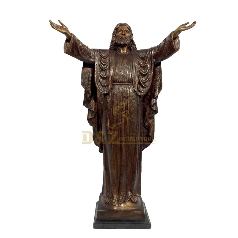 Life Size Customized Bronze Statue Of Jesus By Chinese Manufacturers