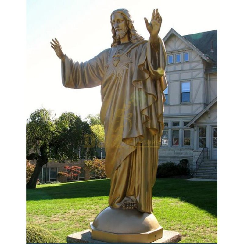 The Statue Of Jesus For Plaza Decoration High Quality Jesus Statue