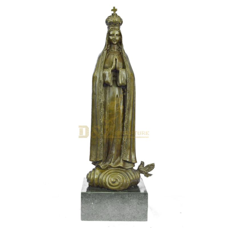 Life Size Bronze Virgin Mary Statue Catholic Statues Wholesale