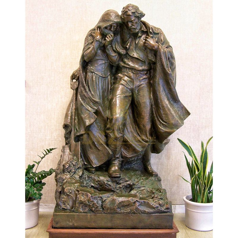 Custom Life Size Mary And Jesus Christ Statue