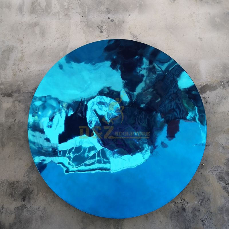 Contemporary Art Sky Stainless Steel Mirror Polished Sculpture