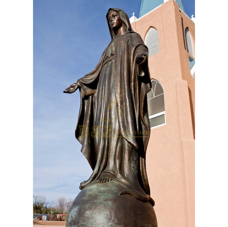 Hot Sale Items Good Price Bronze Virgin Mary Statue