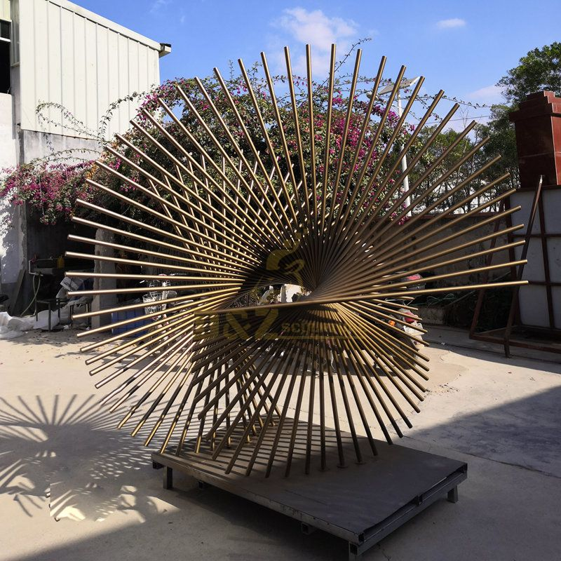 Metal Contemporary Modern Stainless Steel Wire Sculptures