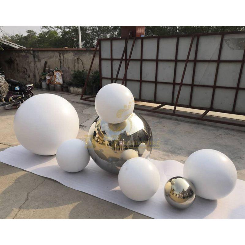 New design stainless steel sphere sculpture ball sculpture